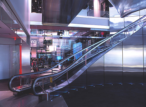 Curved Escalator (Bloomberg)